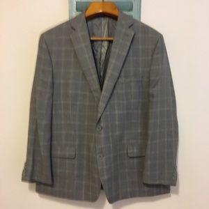 Calvin Klein Suit Blazer 100% Wool 50R